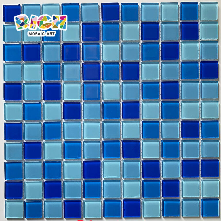RM-CMP11 Baño Azulejo Hot Melt Glass Mosaic Sheet