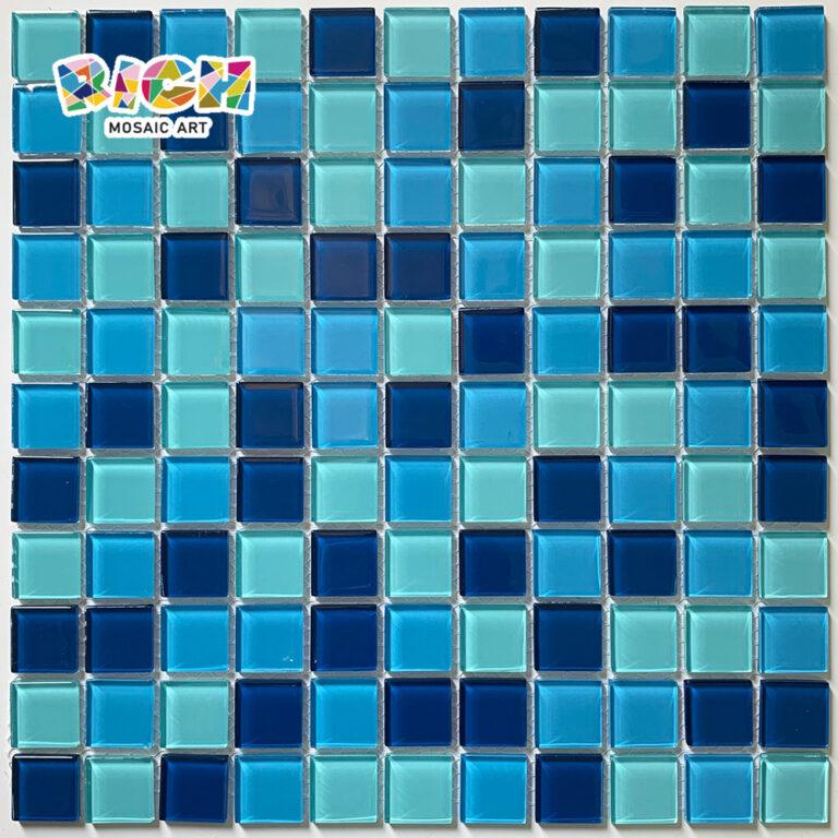 RM-CMP13 Gemengde kleur 25 mm mozaïektegel voor zwembadproject