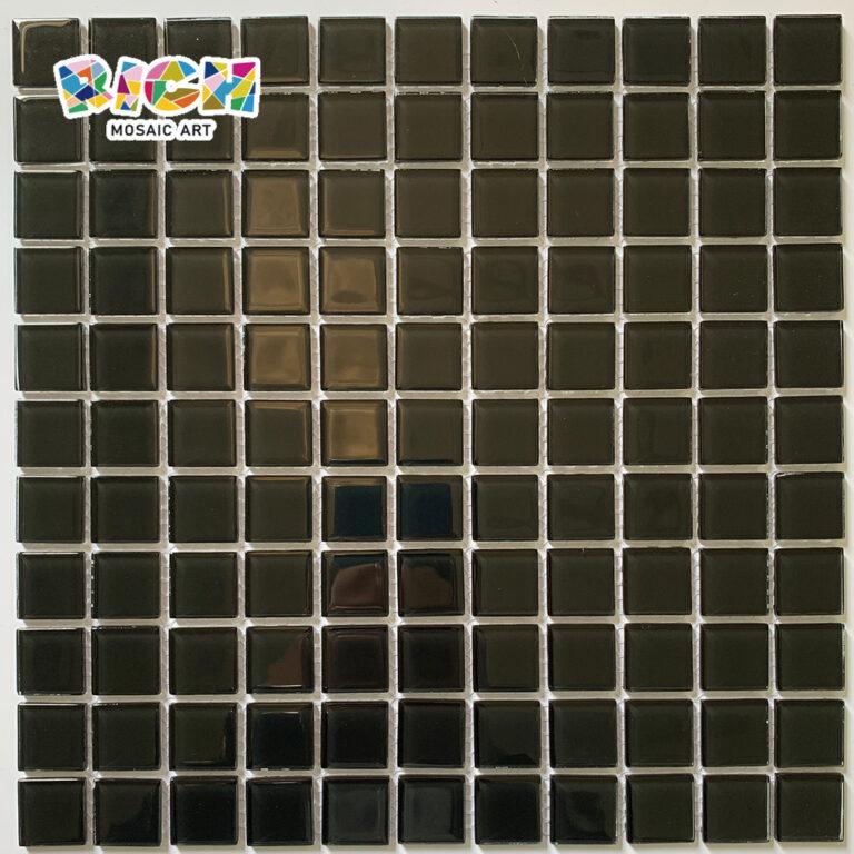 RM-CMP16 Cor Preta Mosaico de Decoração de Mosaico De Decoração De Mosaico Ideias