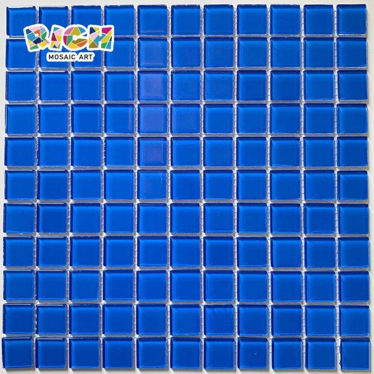 RM-CMP23 Парная мозаика Украшение в океанском синем цвете