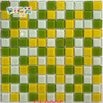 RM-CMP26 Garden Wall Decorate Glass Mosaic in 25 mm Chip