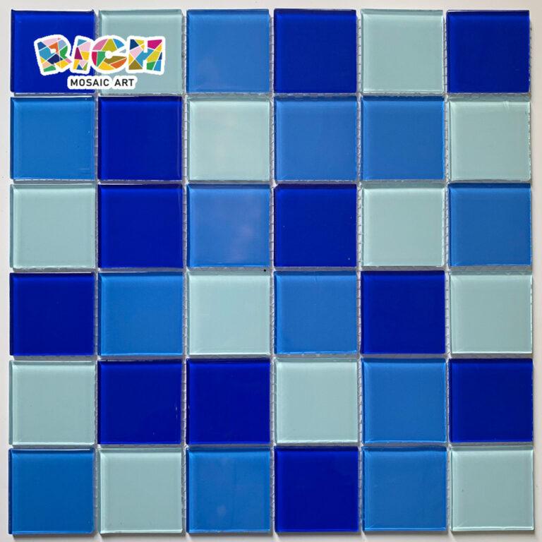 RM-CMP31 Cristal Mosaic Tile No afilado para Swmming Pool