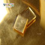 RM-LS03 10X10،15X15 و 20X20 مم بلاط الفسيفساء الذهب الحقيقي في فضفاضة لفسيفساء كرافت