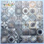 LQ-A-APS02 Металл DIY Мозаика Настенный фартук для плитки Kicthen