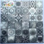 LQ-A-APS03 48X48 Алюминиевая мозаичная плитка 300 мм Лист для плитки Рынок Горячая продажа