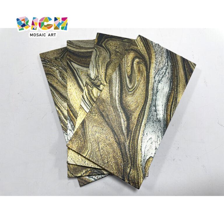 LQ-C-APS03 marmer textuur metaal eenvoudig zelf - Mozaïek plakken