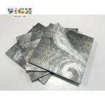 LQ-D-APS07 Padrão Abstrato Metal Single-Piece Fácil de Furar Mosaico