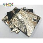 Textura de mármore quadrado LQ-D-APS08 Fácil de Grudar Mosaico