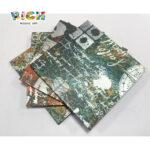 Padrão de mosaico LQ-D-APS09 Metal Wal Azulejo Fácil Instalado Mosaico